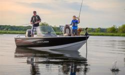 Mercury 90hp 4-stroke Few boats have seen as many trophy catches as Crestlinerâ??s legendary Fish Hawk. A true multi-species boat from bow to stern, every feature was designed with the angler in mind, so you can focus more on reeling â??em in. Get