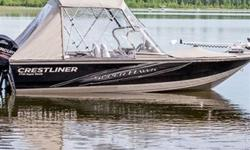 The most adept fishing boats on the water become a completely new family for 2013, now the 1750, 1850 and 1950 Super Hawks. Destined to keep its title as a versatile favorite, the Super Hawk boasts functional enhancements like a re-crafted bow that can