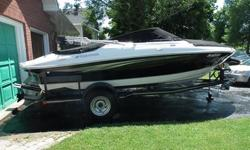 This boat is in brand new condition and many extras are included. It was used once for a couple hours. Must sell due to health reasons. Price is negotiable. Features include: -Four Winns H190 Horizon Bowrider -Volvo Penta 4.3L 190hp inboard/outboard