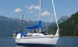 1991 Catalina 28 ft Mark I - successful survey April 2014 - Universal M3-20 Diesel engine ? 18 hp - Walk through transom - Full double aft berth - 10?4? Beam - 3? 10? draft ? Lead Wing Keel - Sleeps 6 - New rigging in 2012 - New life lines in 2012 - New