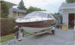 1982 Tempest, 17.5?, with a 140 HP , 4 cyl., Mercury Cruiser, Inboard/Outboard. (You REALLY Must see this boat to Appreciate its New Condition) My good friend and neighbor, Eric, has asked me if I might do the Boat Trader listing for him. He turned 87 on