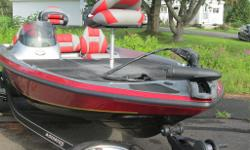 2012 STRATOS 176XT WITH TRAILER AND 75HP EVINRUDE OUTBOARD TROLLING MOTOR ALUMINUM WHEEL UPGRADE. PACKAGE PRICE $26255.00 PLUS TAX AND LICENSE BIWEEKLY PAYMENT $102.00 ON APPROVED CREDIT * SEE STAFF FOR OPTIONAL MOTOR PRICES