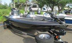 2012 STRATOS 186XT WITH TRAILER AND 115 EVINRUDE HP MOTOR COMES WITH - DUAL CONSOLE - FISH FINDER - 24 VOLT TROLLING MOTOR - ALUMINUM WHEEL UPGRADE - SPARE RIM AND TIRE COMPLETE PACKAGE PRICE $29166.00 PLUS TAXES AND LICENSE BIWEEKLY PAYMENT $113.00 ON