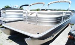 Now Only $19,995 plus freight and pdi - WAS $23,995 with a 75 hp Mercury Now $19,995 with a 90 hp Suzuki - Looking for a large Pontoon Boat! Finance this great family Pontoon Boat from : $1,500 down, $249 per month, 180 months - OAC. Call for details on