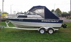 GREAT BIG WATER FISHING BOAT, DEEP VEE ALUMINUM HULL, 4.3 LITRE V6. PERFECT SETUP FOR SALMON FISHING