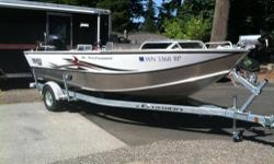 2011 hewescraft 18' Open Fisherman HP Jet. lowrance X-5 Color fishfinder at the transom. two scotty rod holders raw water wash down, river anchor 2012 Galvanized trailer