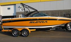 WEST EDMONTON Great Ski & Wakeboard Boat, Loaded with Features! Payments Starting at $520/month5.7L 340 HP V-Drive Indmar MPI Engine, Seating for 15, Progressive Tower, 4 Roswell Bar Tower Speakers, 3 Tower Lights, Zero Off Cruise Control, 2 Swivel Board