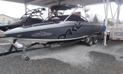 Docking Lights Pull Up Cleats (Forward) Pull Up Cleats (Aft) Swim Platform (Fiberglass) Ballast (Center) Ballast (Rear) Mirror (Tower Mounted) Z5 Cargo top Tower (Fold Down) Wakeboard Racks (2 Pairs) Perfect Pass Digital Wakeboard Pro Heater - Two Outlet