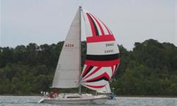 Very Fast racer/cruiser Fin Keel 2 Spinaker Hallards 2 Lewmar 52 CST Self Tailing Winches 2 Lewmar 46 CST Self Tailing Winches Spinaker with pole - Excellent Shape DRS with sock - Excellent Shape (lightening bolt) #3 North Sail Dacron #1 North 3DL with