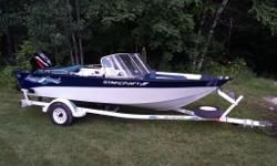 2003 STARCRAFT FISHING ALUMINUM 17FT+40HP MERC OUTBOARD+TRAILER One owner, perfect shape boat for quick sale. No dings or scratches. Immaculate. 2-stoke economical oil injected 40HP Mercury Outboard Motor. Rated for 6 persons. All seats are good. All