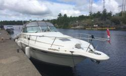 330 SUNDANCER-STUNNING VESSEL Cleanest in Ontario Updates galore including a partial listing: GPS, Gauges, Interior Fridge, External Fridge, New Cushions, LED TV, 4 new batteries, too much to list a must see for serious buyers only. Everything works