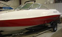 NEW 2012 Starcraft 2018 Bowrider with 4.3L Merc TKS OPTIONS: Bow and Cockpit Covers, 8 Person Maximum Capacity, 19 Degree Deadrise at Transom, 30 Gallon Fuel Tank, Full Fiberglass Liner with Large In-Floor storage, Premium Upgraded Stereo System with