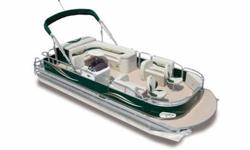 "2012 Avalon 19LS Fish This is a beautiful boat that is made with the same care and quality materials used on all Avalon Pontoon boats. We include many of Avalon's nicest features - Plush Matrix 50 furniture, 25"" pontoons, 8 1/2 wide body, 10' bimini top,"