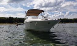 Beautiful 24ft Regal Bowrider for sale. Options Include: Head Running Water Shower nozzle Sink Canvas Cover Aluminum Trailer (Not Pictured) Extra Large Bimini Cover New Stereo and Speakers *New Short Block engine* with less than 20 hours I will include