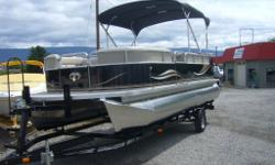 We have poontoons Tahoe by Avalon with 90hp to 115hp Starting at 22995 call Dan or Mike 250-494-2220
