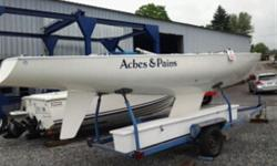 WAS $4,950 CLEAR OUT PRICE $3995. The Soling is a strong boat designed for any wind and sea conditions and is fun to sail. Fitness, sailing and team skills are basic requirements for good racing. The boats are made of fibreglass reinforced polyester and