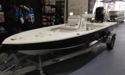 2015 Mako 18 LTSPrice shown includes the added options listed below: - Mercury 90 ELPT Four Stroke - Baystar Hydraulic - Black Hull Sides- Hydraulic Jack Plates - Custom aluminum tandem-axle trailer with brakes.Price does not include freight, PDI,