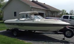 2011 Bowrider 195LX, Stingray, inboard motor is Volvo Penta 4,3L, 190HP, only 75hrs of use, very clean and in excellent condition. Comes with bimini top with full clear plastic enclosure, EZ Loader trailer with spare tire, depth finder, 4 life jackets,