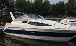 This 2855 Bayiner Ciera LX is in very clean condition and kept completely original from day one.. The boat is nicely outfitted with options, and is a great opportunity to get into a fantastic boat Features: 7.4 lMPI Bravo 3 with 364 original hours, Dual