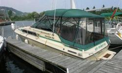 1986 THUNDERCRAFT MAGNUM : 28ft Thundercraft; 10ft3in beam; twin 205hp mercruisers with alpha outdrives; very clean boat in excellent condition; new complete outdrives May 2010; new head July 2010; just over 800hrs on motors; sunbrella canvas-full