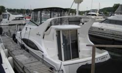 This popular and well equipped mid-range sedan, has the larger Mercury 6.2MPI's, Professionaly installed extended swim platform with a seaweed system for a dinghy, Radar, GPS, Air Conditioning, Generator, upgraded entertainment system, new carpet, new