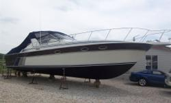 Twin Crusaders, 454s, open cockpit style, very wide beam, AC and heat, windlass, generator, electronics, wet bar, front deck sun pads, many new up grades, super clean through out, very large cabin with large bathroom with seperate shower, double door
