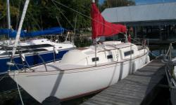 1975 Sabre 28 Mark I Masthead Sloop. The Sabre 28 is one of the best examples of a small cruiser/racer. It has classic lines, beautiful teak brightwork, a large cockpit, and a well laid out cabin. This boat has been well cared for and upgraded. As for