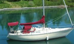 Classic C&C. Solid hull (no core) with epoxy barrier. Folding Gori, Harken furling, 6 sails including 2 spinns. 10 winches NAV5 instruments etc. Lying Toronto