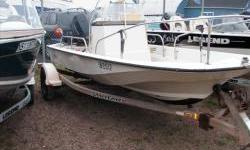 This Boston Whaler is in good shape for the year, Needs a little TLC. The Motor runs great , the hull is in goood shape and the Trailer is a 2001 Shorelandr' Engine(s): Fuel Type: Gas Engine Type: Other