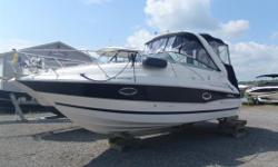 Well appointed example of one of Doral's most popular models. Ideal boat for a young family looking at getting into a luxurious, high quality cruiser. Includes a salt water rated Volvo Penta with closed cooling system (never used in salt water), TV with