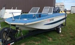 2006 Yamaha 4-stroke 50hp outboard motor, run for only 4 hours! mounted on a Glasspar 01513 Fishing Boa t- buy the motor and you can take the boat too! Please inquire for further information or to arrange financing.