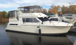**Price reduced almost $10k for quick sale** Boat is a real gem and needs to be seen to be fully appreciated. This boat has been upgraded with the following-hardwood floors, new canvas, and bow thruster. It is ready for your extended cruise. Seller will