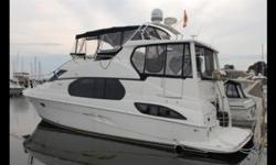 Vessel has arrived at Crates! Call for your appointment to view. Master stateroom and guest stateroom TV/DVD. Bose sound system in salon. One owner. Very clean. Hull and Deck Navigation Lights, Full Engine Instrumentation, Remote Spotlight. Cabin and