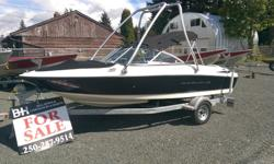 Immaculate Bowrider! Ready, Set... Go! Just in time for the Boating season this year! Why not treat your friends & Family to a summer of fun on the water... 42 Mph! Seats 7 Passengers! Trailer ( VIN# KKTBS19179F503291 )