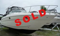SOLD Very rare low hour 29 Amberjack, 5.0 MPI Mercruisers 92 original hours, Kohler % KW generator only 4 hours, Raymarine electronics including radar, Garmin 5212 Map Sonar, radar arch, shorepower, Toshiba flat screen TV with DVD player, VHF, Cruisair
