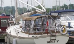 BIBIS V If you're tired of spending hours on the road to get to your cottage then BIBIS V is your answer. BIBIS V is a 30 ft. Nonsuch, fresh water boat with a large enclosed cockpit, (new in summer 2011), and a spacious main salon - a cottage on the