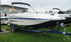 New 2014, Sportster pkg.115ETEC,Trailer,cover,ski-tow,depth gauge, snap-in carpet,ss rubrail,pull out cleats, Pick your Passion In the Limited 1915 OB deckboat by Starcraft, there?s something for everyone - whether you love cruising, watersports or simply