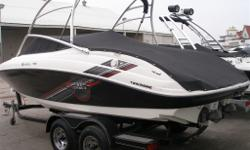 HULLY GULLY Marine Sales - This one owner AR210 offers proof that there's no greater thrill than the combination of award winning Yamaha design, proven reliability and superiour fuel economy while still providing incomparable acceleration and control with