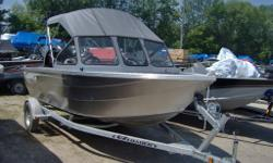 All Welded Aluminum and No Paint! Canadian (BC Made) Heavy Guage Aluminum - In Destructable! Perfect Cottage Boat - Better Hull Designed, Better Fit and Finnish than the other guy! Only $25,995 plus freight and pdi - Call Marsh's Marina we are taking
