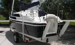 Quick, stable and responsive, the revolutionary Tattoo 26 is the fastest and best handling of any of the trailerable cruising sailboats. If you are buying a sailboat for the first time, performance and racing may seem of little interest to you. However, a