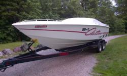 1998 Baja Outlaw. Thru hull exhaust. 400hrs. Mint Boat. Must be seen to be appreciated. If you come and see it you will be taking it home. Well cared for. Motivated seller. Serious inquires only. 905-301-0728. Ask for Brad.