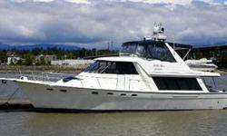 Hands down the best equipped 47 Bayliner Pilothouse on the market! An amazing equipment list includes: Twin 370 Cummins Diamond Series Diesels Bow Thruster Stern Thruster Yacht Controller (wireless remote for thrusters and engines) Hydronic Diesel