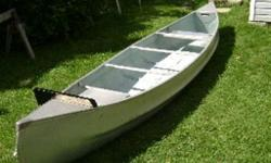 Original Springbok canoe - double point includes factory made carrying yoke, motor bracket and two paddles. Also includes Johnson 2hp motor in good condition. Canoe has been lovingly cared for and is in excellent shape.