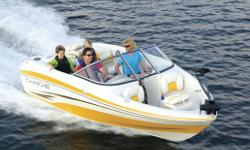 ONLY 1 LEFT!4.3 MPI (220 HP) please contact us for special pricing and promotions! The Tahoe Q5i Ski Fish has everything you need to expand your horizons. With the MerCruiserR sterndrive (up to 220-horsepower) and PowerGlide? hull design, you can dial