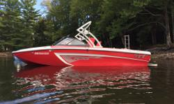 Tigé R20 2013 The Tigé R20 is the perfect starter wakeboard boat. It has the same versatile hull and design as the high-end RZR and is completed with a bunch of standard features included to get you out on the water and riding. The compact design of the