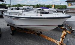 Boston Whaler 15' RAGE jet boat, 120 HP, cover, comes complete with trailer. $5999.