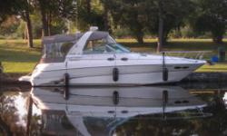 Hull & Deck Features: Arctic White gel-Coat / High-Performance Vinylester Resin /Graphics package/Brass- Threaded Garboard Drain Plug /Color ?Coordinated Thru-Hull Fittings / Stainless Steel Bow & Stern Eyes /Stainless Steel Handrails /Stainless Bow Rails