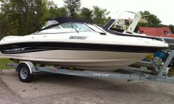 Package deal!  250 Hours, 4.3MPI mercruiser.  Has Cockpit cover, convertible top, and removable carpet, all original as well as seating and in very nice condition. Runs great, just serviced recently. New water pump, outdrive service, oil changed etc..