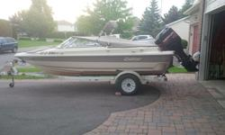 2000 Cutter 173, Bow Rider, 100 HP Mercury 2 stroke, trailer, tarps, bimimi. Great for tubing and skiing.