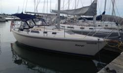 "Well maintained -beam 10'-10"" -draft 3'-10"" -25 hp Universal diesel -refrigeration, newer full canvas -2 burner s/s stove with oven -Autohelm, GPS -155% furling genoa -full batten main Located in Port Dalhousie, ON"